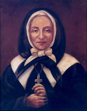 Painting of Marguerite Bourgeoys, artist unknown, second half of 19th century