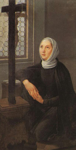 Painting of Angela Merici, artist unknown, 17th century